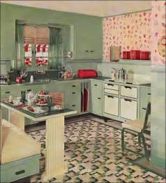 Retro Kitchen Ideas by Vintage Clothing Love Vintage Kitchen Inspirations 1930 S