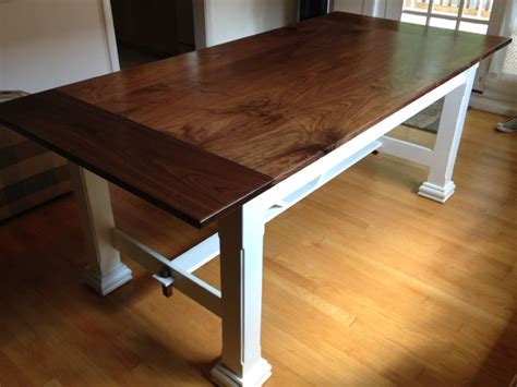 black walnut dining table farmhouse dining tables