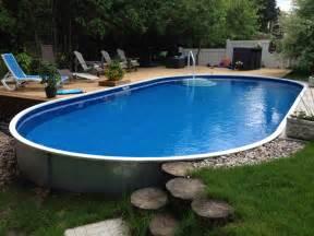 semi inground pools rideau pools