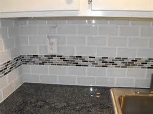 Kitchen Backsplash Tile Ideas Subway Glass by Kitchen Subway Tile Backsplash Ideas With White Cabinets