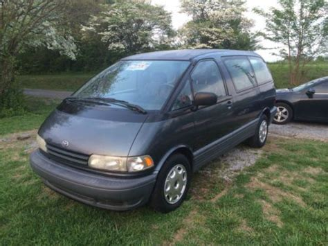 1994 Toyota Previa Sell Used 1994 Toyota Previa In Knoxville Tennessee