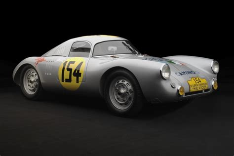 old porsche race car the 1953 porsche 550 lemans panamericana coupe 95 customs