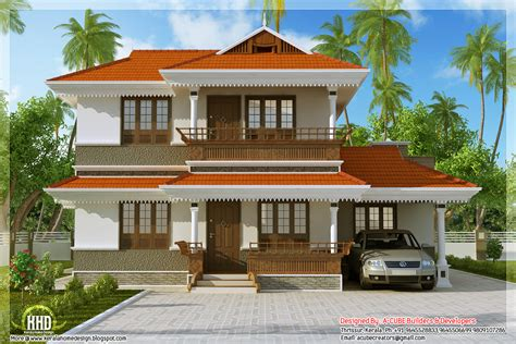 Kerala Model Home Plan In 2170 Sq Feet Kerala Home Design And Floor Plans