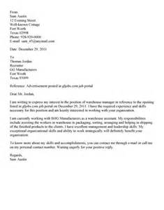 cover letter examples uk warehouse operative cover