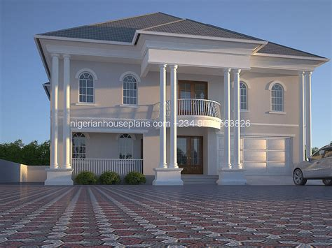 House Designs Floor Plans Nigeria | 6 bedroom duplex ref 6011 nigerianhouseplans