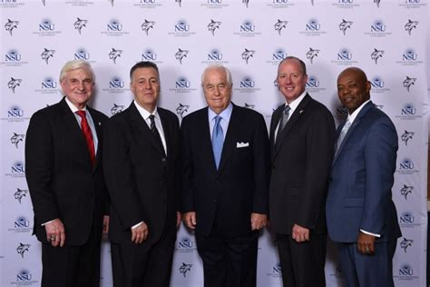 Nsu Mba Program by Business Leaders Inducted Into Nsu S Entrepreneur Of