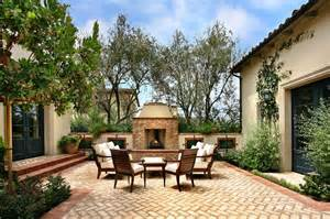 mediterranean backyard designs brick patio design beautiful ideas how to build a house