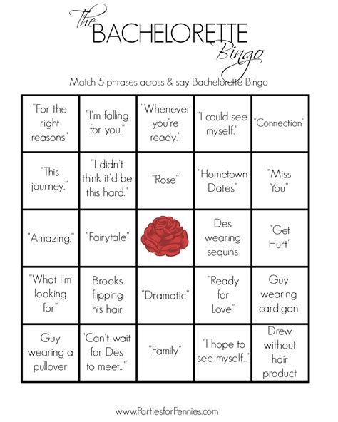 bachelorette bingo template 7 best images of printable bachelorette bingo cards free