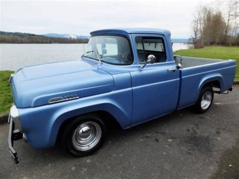 57 Ford Truck by Find Used No Reserve 57 Custom Ford Bed V 8 Up