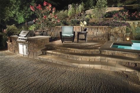 backyard retaining walls custom patio design retaining wall and landscape design
