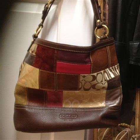 Patchwork Coach Bag - 83 coach handbags authentic coach patchwork leather