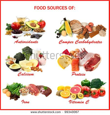 6 sources of carbohydrates carbohydrate stock photos images pictures