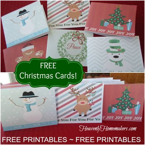 printable christmas cards for mommy free printable christmas cards money saving mom 174