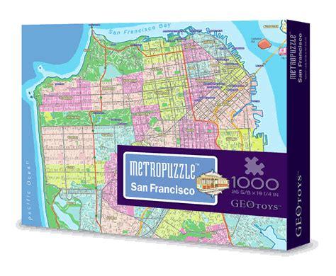 san francisco map puzzle san francisco mypuzzle jigsaw puzzle puzzlewarehouse