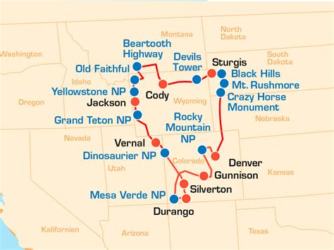 Motorrad Tour Denver by West Motorradreise Die Wildwest Motorrad Rocky