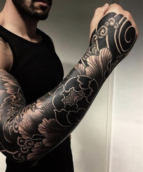 bold tattoos really great japanese sleeve strong and bold