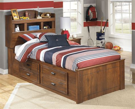 barchan twin bookcase bed with storage barchan twin bookcase underbed storage bed from ashley