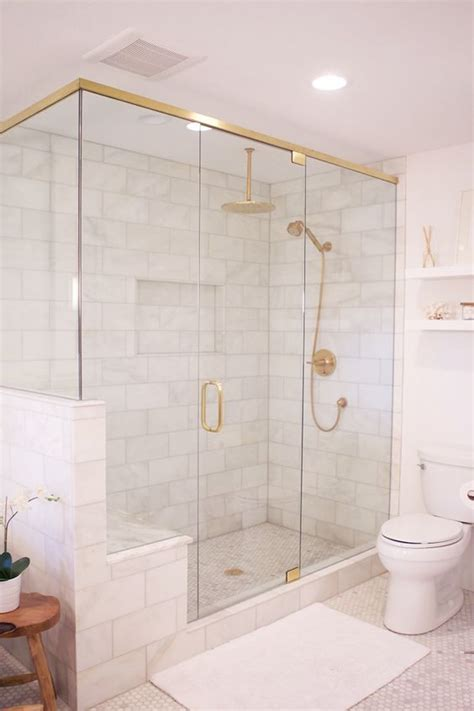 Large Shower by 41 Cool And Eye Catchy Bathroom Shower Tile Ideas Digsdigs