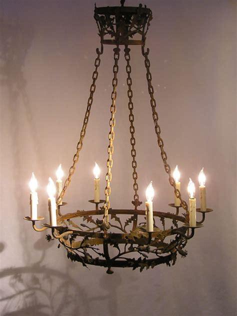 kronleuchter eisen antik antique iron chandeliers chandelier