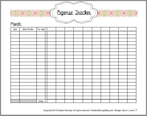 printable receipt tracker 1000 images about organizing on pinterest organize