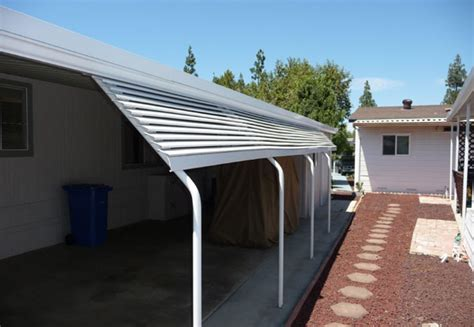 mobile home carport awnings image gallery mobile home carports