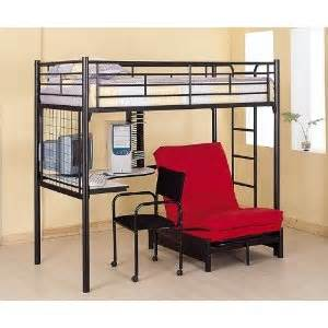 size loft bed redgage