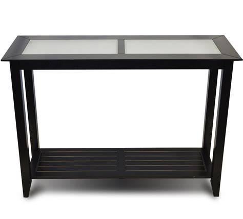 slim accent table console table black in accent tables