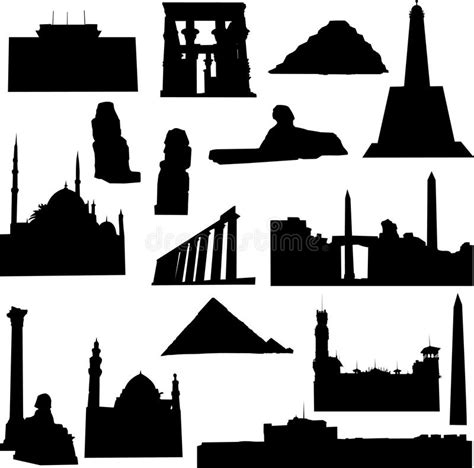 well known architects well known egypt architecture stock image image 13758391