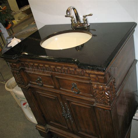 Bathroom Vanity With Granite Top Vanity Top Granite Shanxi Black Vanity Tops For Bathroom