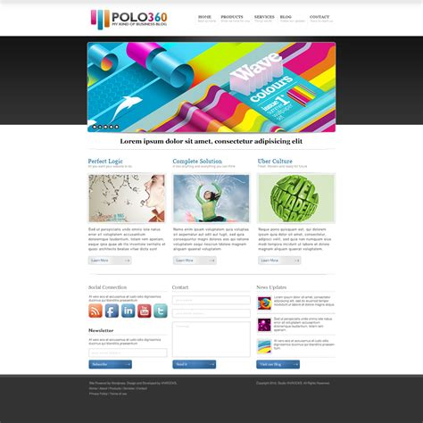 20 Best Free Psd Website Templates For Business Portfolio And Other Websites In 2018 Colorlib 2 Page Website Template