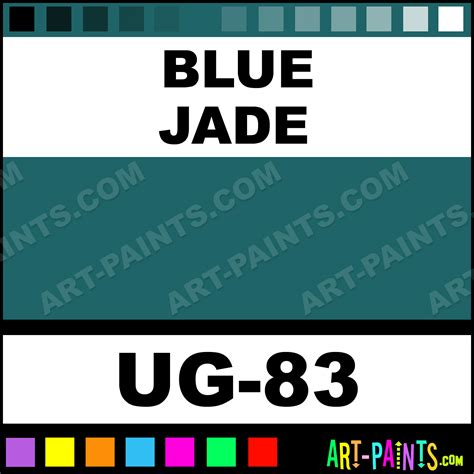 blue jade non toxic opaque ceramic paints ug 83 blue jade paint blue jade color mayco non