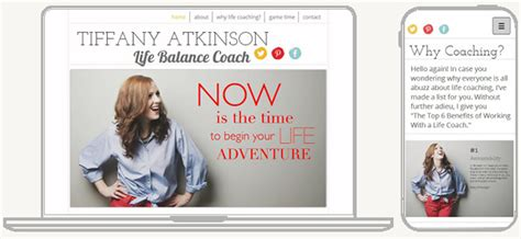 website templates for life coaches 5 web design tips for a professional site