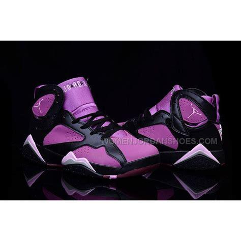 air jordan 7 women c womens air jordan 7 gs mulberry black purple for girls