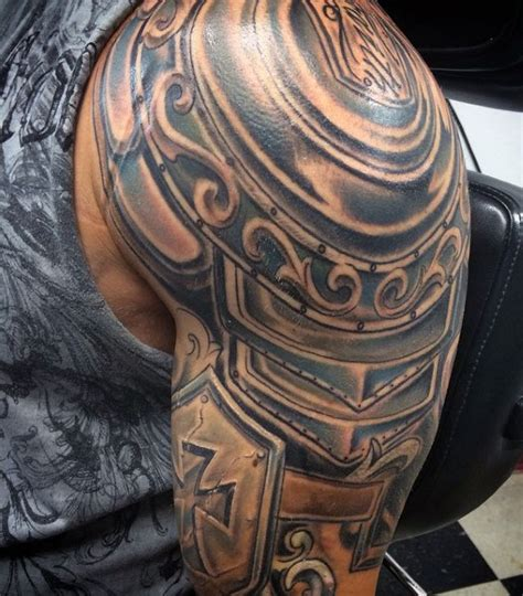 roman armour tattoo designs collection of 25 blood and helmet tattoos on shoulder