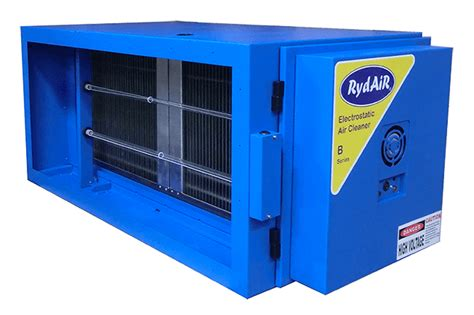ry 5000 electrostatic air cleaner with uv ozone generator