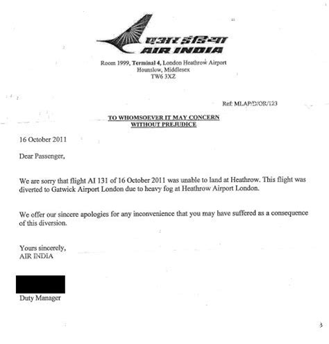 apology letter for cancellation of flight apology letter for cancellation of flight 28 images