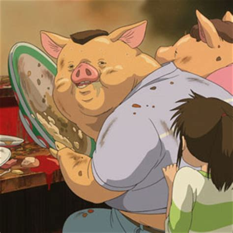 anime film where parents turn into pigs dad turns his sons sketches into amazing anime characters