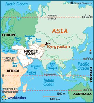 kyrgyzstan in world map kyrgyzstan map geography of kyrgyzstan map of
