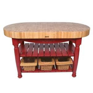 oval kitchen islands boos harvest table use this 60in chopping block as a