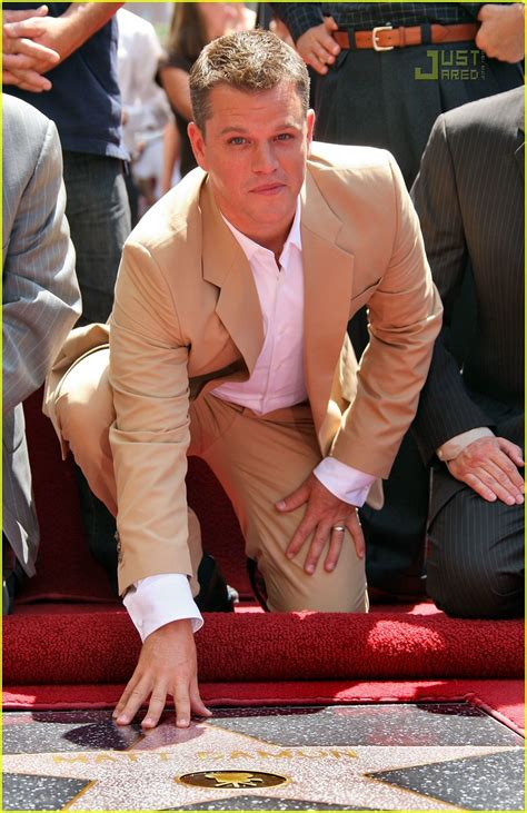 Matt Damon Gets His Walk Of Fame by Matt Damon Gets Walk Of Fame Photo 505941