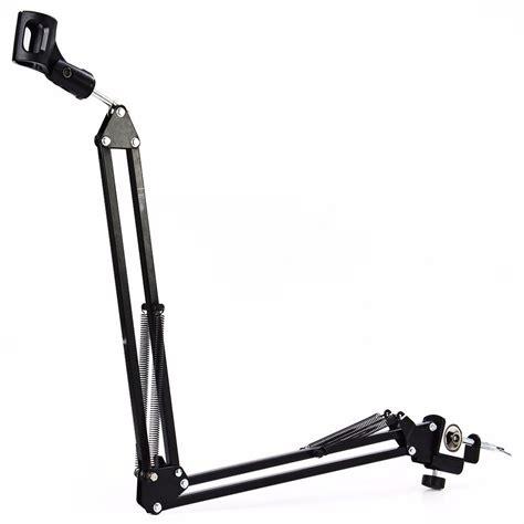 Arm Stand Suspensi Mikrofon Black arm stand suspensi lazypod mikrofon black jakartanotebook