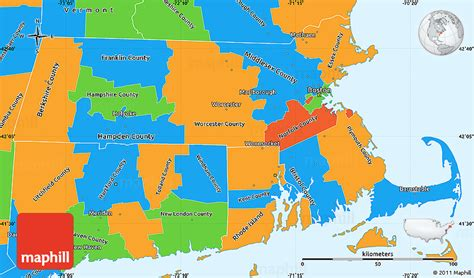 us map states boston political simple map of massachusetts