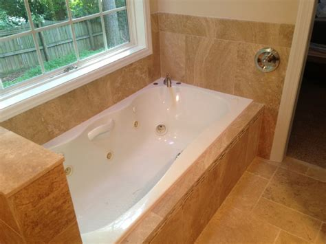 Garden Tub With Shower by Garden Tub Shower Combination Modern Raleigh By J Trent Associates Llc