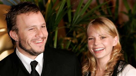 Did Heath Ledger And Williams Get Married by Williams Painfully Recalls Moving Away From Home