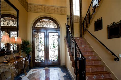 foyer table tuscan style decorating entry foyer 46 beautiful entrance hall designs and ideas pictures