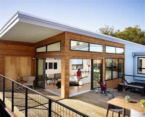 ecokit s modular prefab cabins are sustainable and arrive this manufactured home is beautiful it s also made from