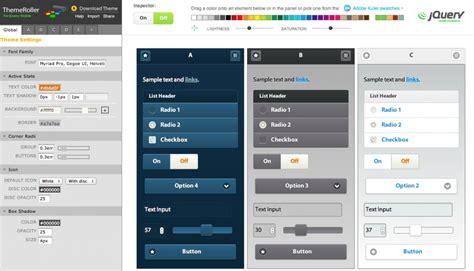 using jquery themes in html jquery mobile lanzado con theme roller taringa