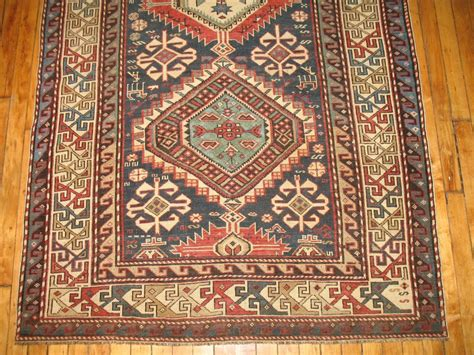 Rug Identification by Antique Caucasian Kazak Rug At 1stdibs