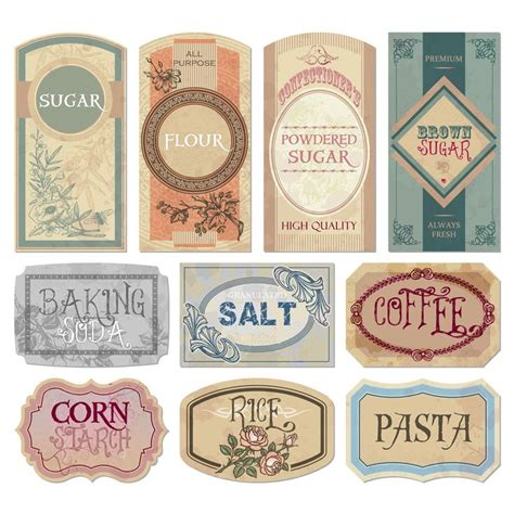 25  unique Jar labels ideas on Pinterest   Labels for jars, Mason organization and Kitchen