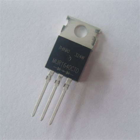 Produk Mur1660ct Fast Recovery Diode thinki semiconductor product showcase